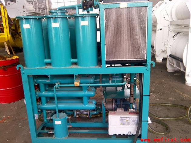 DYJ-50滤油机背面
