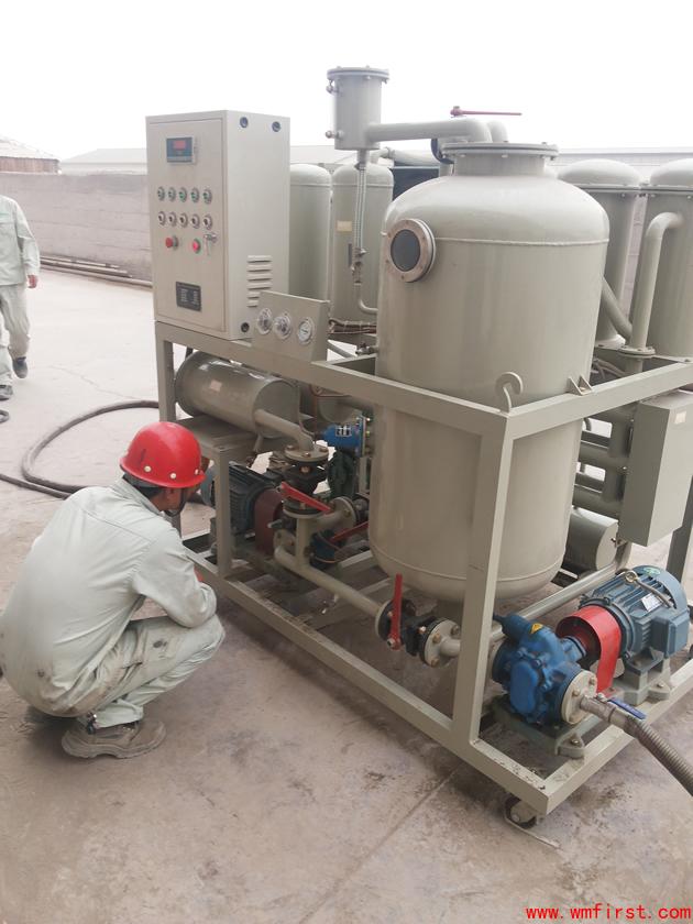 DYJ-100滤油机试用中